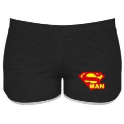 Женские шорты Super Man - FatLine