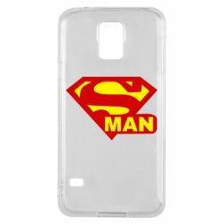 Чохол для Samsung S5 Super Man