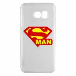 Чохол для Samsung S6 EDGE Super Man