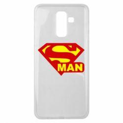 Чехол для Samsung J8 2018 Super Man
