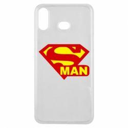 Чехол для Samsung A6s Super Man