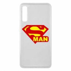 Чехол для Samsung A7 2018 Super Man