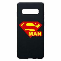 Чохол для Samsung S10+ Super Man