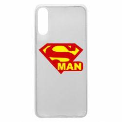 Чехол для Samsung A70 Super Man
