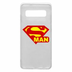 Чохол для Samsung S10 Super Man