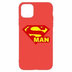 Чехол для iPhone 11 Pro Max Super Man