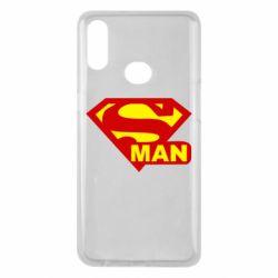 Чехол для Samsung A10s Super Man