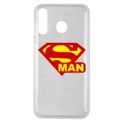 Чехол для Samsung M30 Super Man