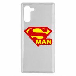Чохол для Samsung Note 10 Super Man