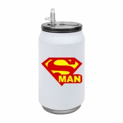 Термобанка 350ml Super Man