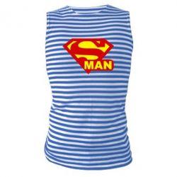 Майка-тельняшка Super Man