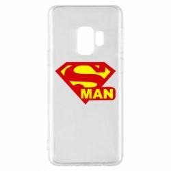 Чохол для Samsung S9 Super Man