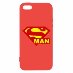 Чехол для iPhone5/5S/SE Super Man