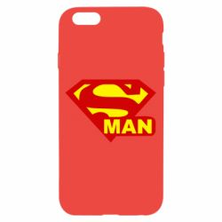 Чехол для iPhone 6 Super Man