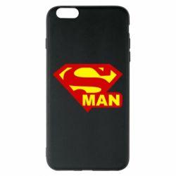 Чехол для iPhone 6 Plus/6S Plus Super Man