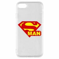 Чехол для iPhone 8 Super Man