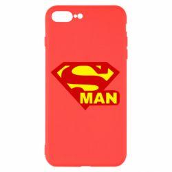 Чехол для iPhone 8 Plus Super Man