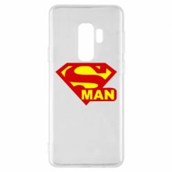 Чохол для Samsung S9+ Super Man