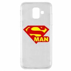 Чехол для Samsung A6 2018 Super Man