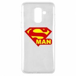 Чехол для Samsung A6+ 2018 Super Man