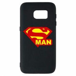 Чохол для Samsung S7 Super Man
