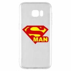 Чохол для Samsung S7 EDGE Super Man