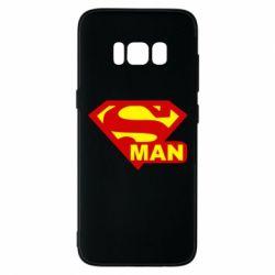 Чохол для Samsung S8 Super Man