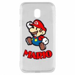 Чехол для Samsung J3 2017 Супер Марио - FatLine