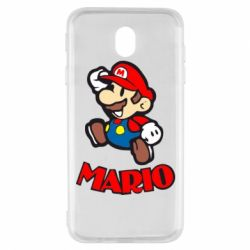 Чехол для Samsung J7 2017 Супер Марио - FatLine