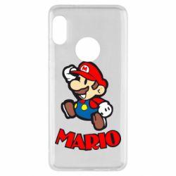 Чехол для Xiaomi Redmi Note 5 Супер Марио - FatLine