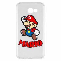 Чехол для Samsung A7 2017 Супер Марио - FatLine
