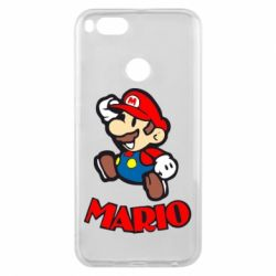Чехол для Xiaomi Mi A1 Супер Марио - FatLine
