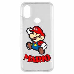 Чехол для Xiaomi Mi A2 Супер Марио - FatLine
