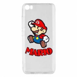 Чехол для Xiaomi Xiaomi Mi5/Mi5 Pro Супер Марио - FatLine