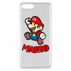 Чехол для Xiaomi Mi Note 3 Супер Марио - FatLine