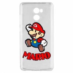 Чехол для Xiaomi Redmi 4 Супер Марио - FatLine