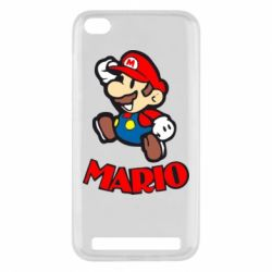 Чехол для Xiaomi Redmi 5a Супер Марио - FatLine
