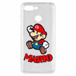 Чехол для Xiaomi Redmi 6 Супер Марио - FatLine