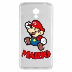 Чехол для Meizu M5c Супер Марио - FatLine