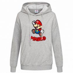Женская толстовка Супер Марио