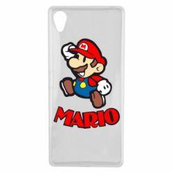 Чехол для Sony Xperia X Супер Марио - FatLine