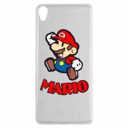 Чехол для Sony Xperia XA Супер Марио - FatLine