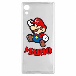 Чехол для Sony Xperia XA1 Супер Марио - FatLine