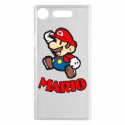 Чехол для Sony Xperia XZ1 Супер Марио - FatLine