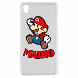 Чехол для Sony Xperia Z3 Супер Марио - FatLine