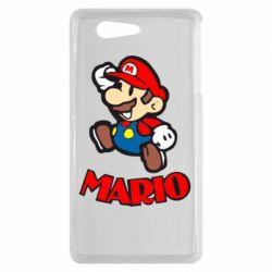Чехол для Sony Xperia Z3 mini Супер Марио - FatLine
