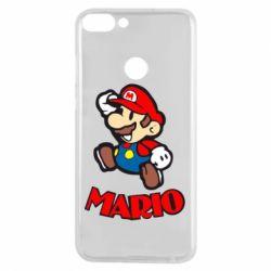 Чехол для Huawei P Smart Супер Марио - FatLine