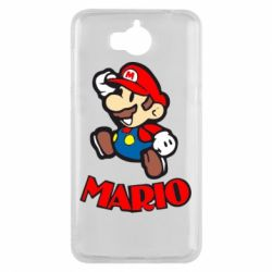 Чехол для Huawei Y5 2017 Супер Марио - FatLine