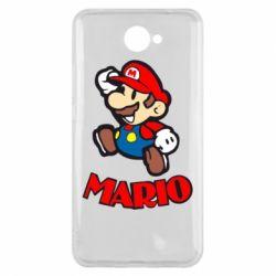 Чехол для Huawei Y7 2017 Супер Марио - FatLine