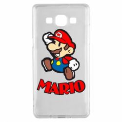 Чехол для Samsung A5 2015 Супер Марио - FatLine